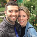 Mark Wiid with his wife Sarah Wood image