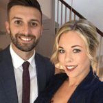 Mark Wood with his wife Sarah Wood