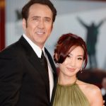 Nicolas Cage with ex-wife Alice Kim