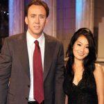Nicolas Cage with ex-wife Alice Kim image