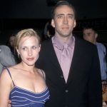 Nicolas Cage with ex-wife Patricia Arquette