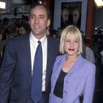 Nicolas Cage with ex-wife Patricia Arquette image