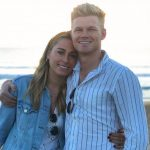 Sam Billings with his girlfriend Sarah Cantlay
