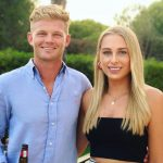 Sam Billings with his girlfriend Sarah Cantlay image
