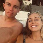 Sam Curran with girlfriend Isabella Symonds-Willmott
