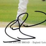 Stuart Broad signature