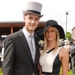 Stuart Broad with ex-girlfriend Bealey Mitchell