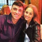 Tom Banton with girlfriend Ali Hampson Silk