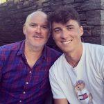 Tom Banton with his father Colin Banton