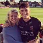 Tom Banton with his mother Jayne Banton