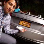 Tony and his Audi car.