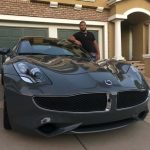 Aaron Donald and his car
