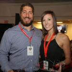 Alex Mack and his girlfriend Alyssa Ropes Mack