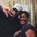 Andre Drummond with his mother Christine Cameron