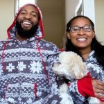 Andre Drummond with sister Ariana Drummond