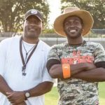 Antonio Brown and his father Eddie Brown