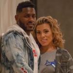 Antonio Brown and his girlfriend Chelsie KyrissAntonio Brown and his girlfriend Chelsie Kyriss