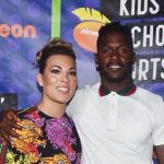 Antonio Brown and his wife Chelsie Kyriss