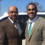 Brandon Graham with father Derrick Walton