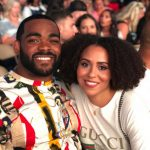 Brandon Graham with wife Carlyne Graham image
