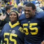 Brandon graham with mother