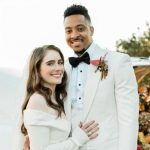 CJ McCollum with wife Elise McCollum