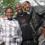 Chandler Jones and his father and mother Arthur Jones and Camille Jones