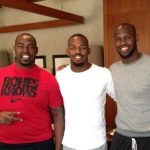 Chandler Jones and his two brother