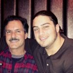 David Bakhtiari and his father Karl Bakhtiari