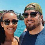 David Bakhtiari and his girlfriend Frankie Shebby
