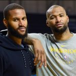 DeMarcus Cousins with his brother Jaleel Cousins