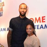 DeMarcus Cousins with his wife Morgan Cousins