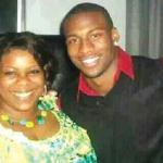 Emmanuel Sanders and his mother Stephanie Sanders