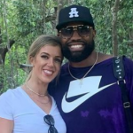 Everson Griffen and his wife Tiffany Brandt