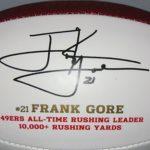 Frank Gore signature