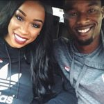 Harrison Barnes with wife Brittany Barnes