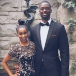Harrison Barnes with wife Brittany Barnes image