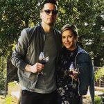 JJ Redick with wife Chelsea Kilgore