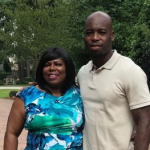 Johnathan Joseph and his mother Diane Joseph