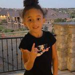 Kareem Jackson daughter Kaylen Jackson