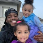 Kareem Jackson with his daughters
