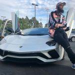 Keenan Allen and his Lamborghini car