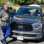 Keenan Allen and his SUV car
