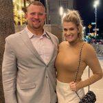 Kevin Zeitler with wife Sara Zeitler
