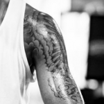 LaMarcus Aldridge left arm tattoo
