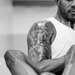 LaMarcus Aldridge right arm tattoo