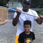 LeSean McCoy with son LeSean McCoy Jr