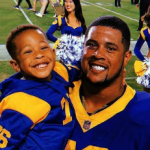 Rodger Saffold and his son