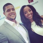 Rodger Saffold and his wife Asia Saffold