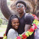 Sammy Watkins with wife Tala Watkins